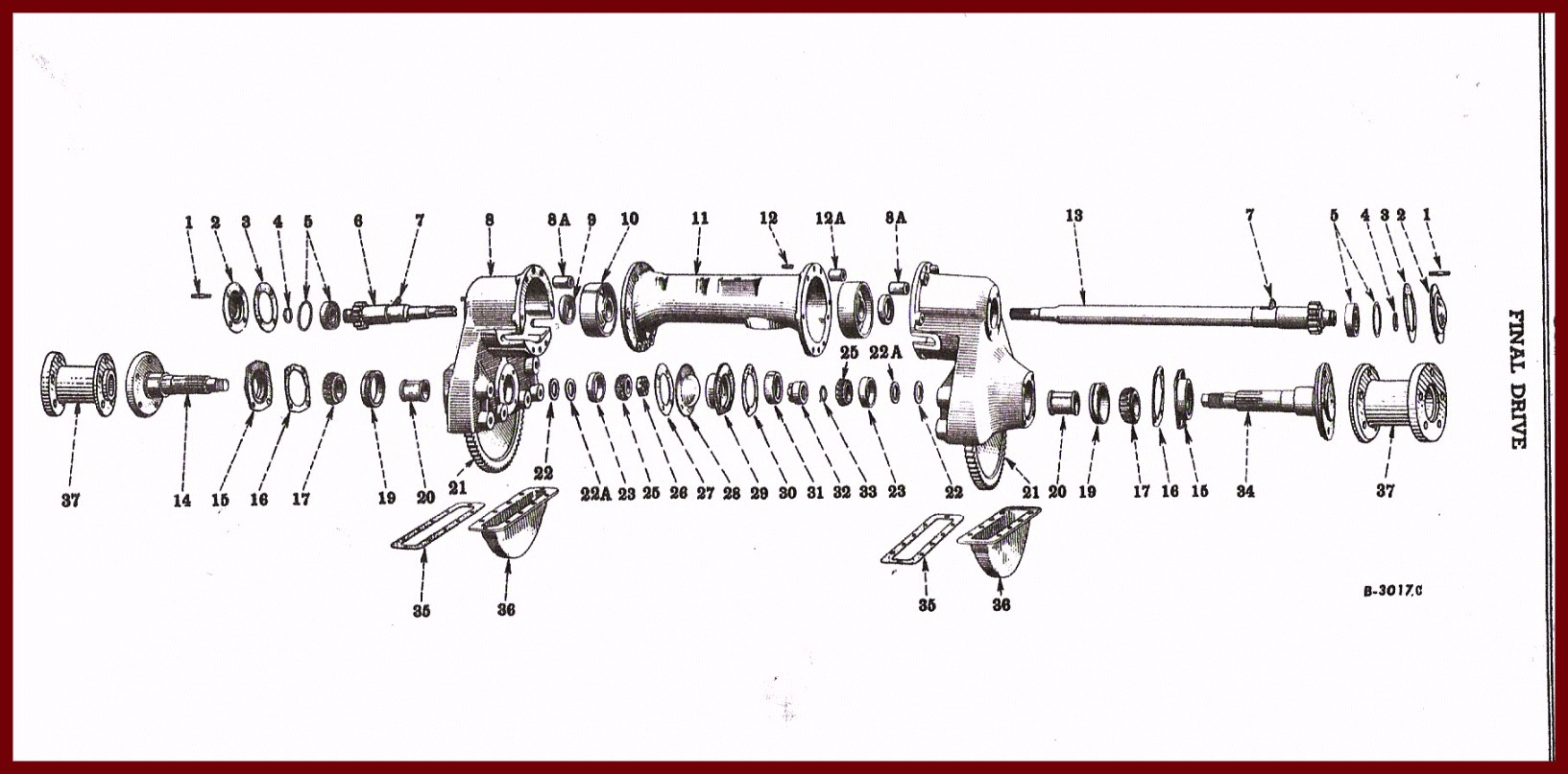 1948 Farmall Cub Wiring Diagram Solutions Ford F1 Panel Final Drive Electrical Work