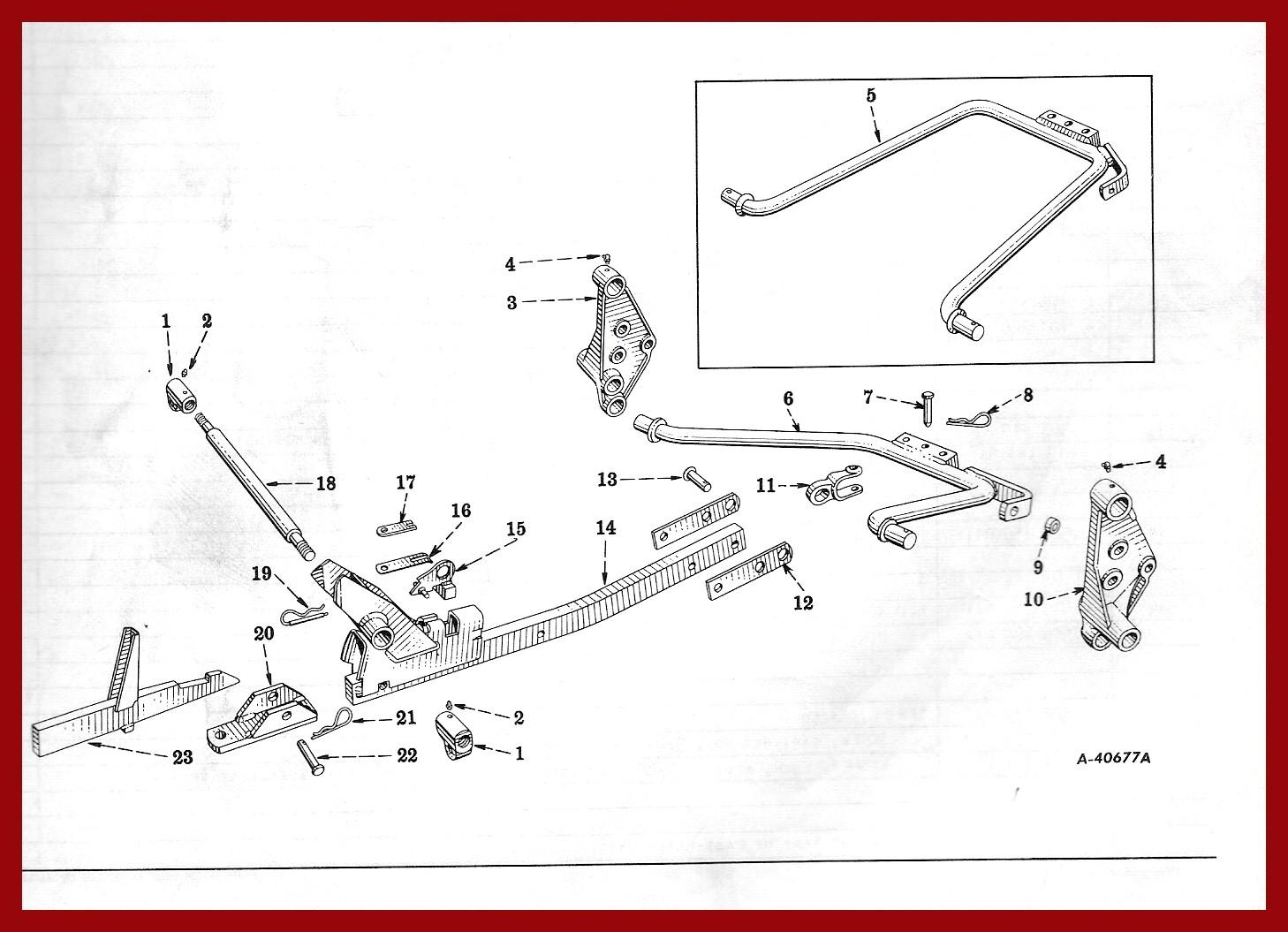 farmall cub parts diagram woods loader parts diagram