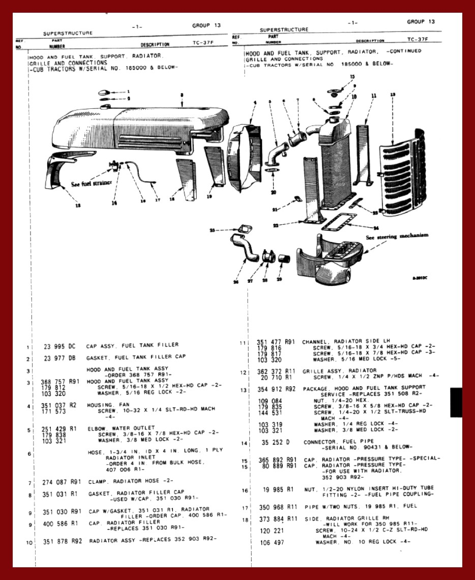 100 Cub Wiring Diagram Great Design Of For Cadet Tank Farmall Parts Free Engine Image Electric Clutch Electrical